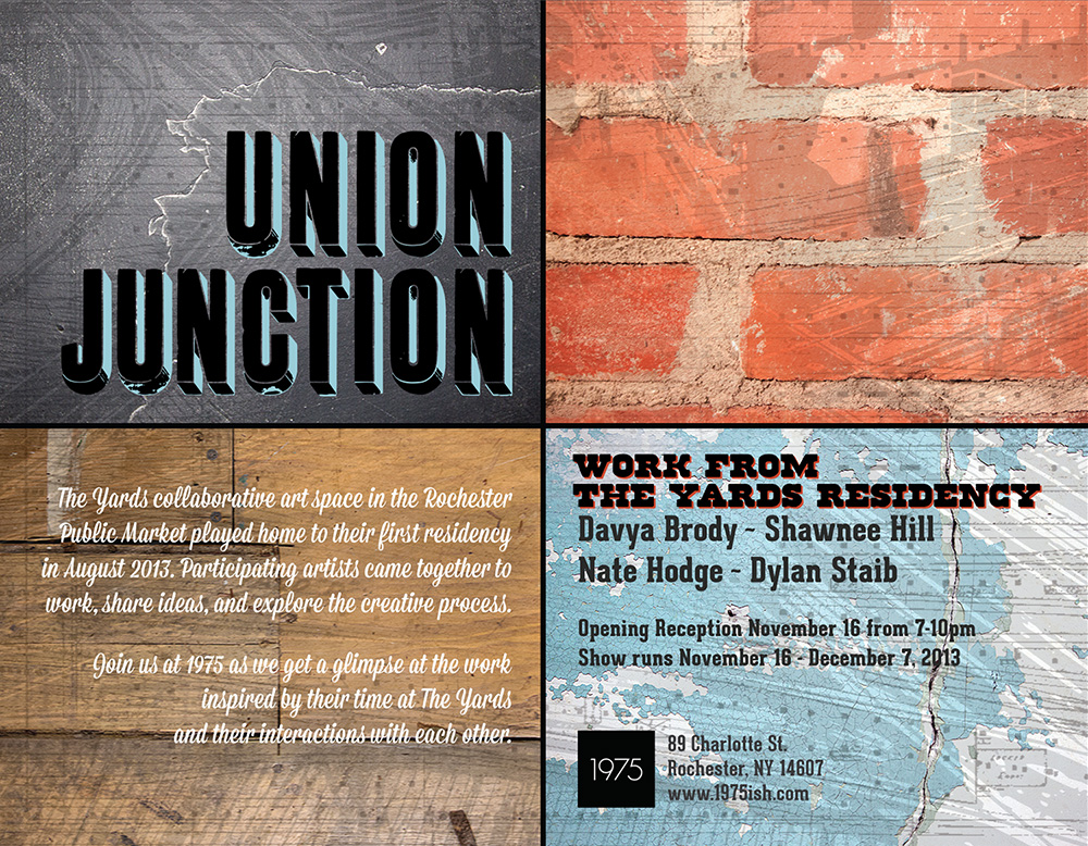 UNION JUNCTION - WORKS FROM THE YARDS RESIDENCY